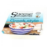 Veganská alternativa sýru Greek style bloček 200g Sheese