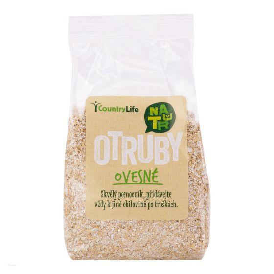 Otruby ovesné 250 g COUNTRY LIFE