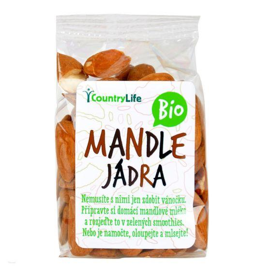 Mandle 100 g BIO COUNTRY LIFE