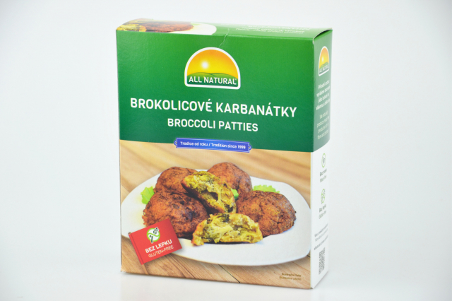 Brokolicové karbanátky - ALL NATURAL 200g