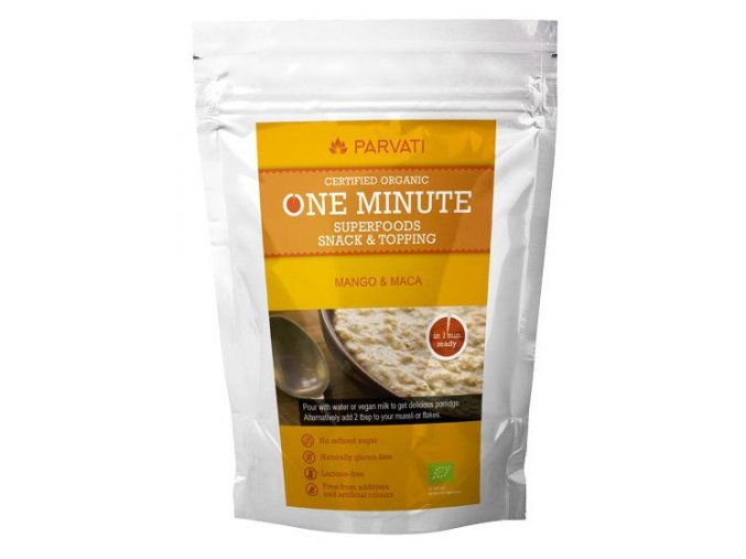 Iswari ONE MINUTE SUPERFOODS SNACK & TOPPING - MANGO & MACA 300g