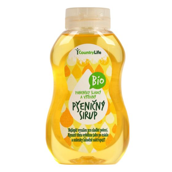 Sirup pšeničný 250 ml BIO COUNTRY LIFE