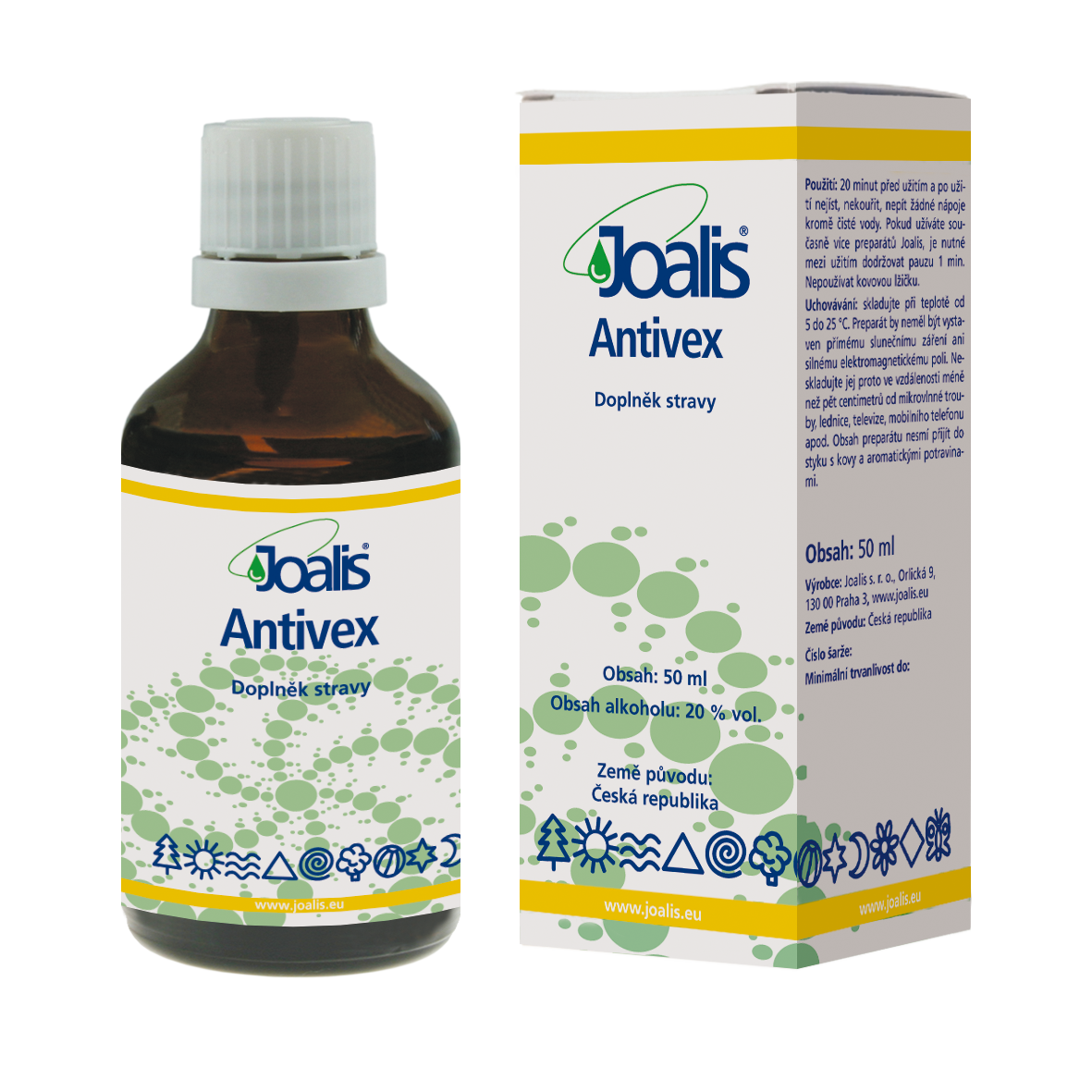 Antivex (proti virům) 50ml Joalis