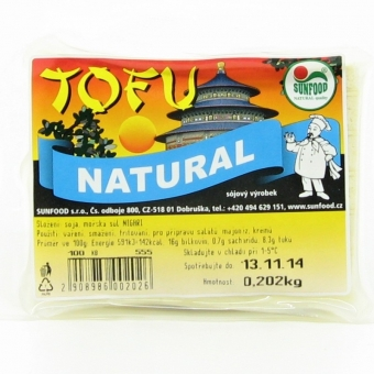 Tofu natural (cca 200g) SUNFOOD