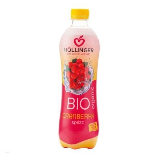 Limonáda brusinka 500 ml BIO HOLLINGER