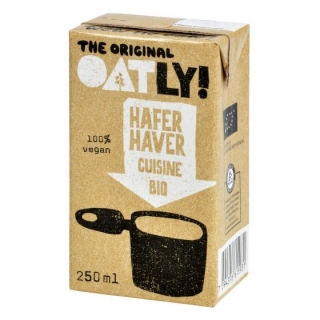 Ovesná alternativa smetany 250 ml BIO OATLY