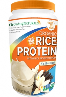Rice Protein Isolate Powder Vanilla Blast (dvojité balení)