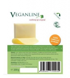 Veganline alternativa sýra original 200g