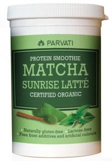 MATCHA SUNRISE LATTÉ PROTEIN SMOOTHIE