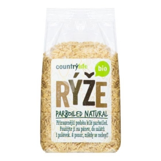Rýže parboiled natural 500 g BIO COUNTRY LIFE