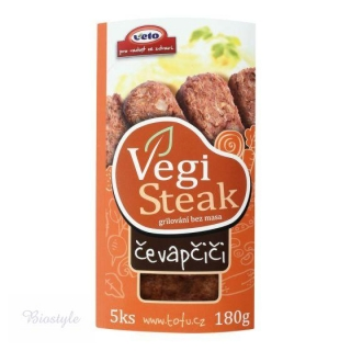VegiSteak čevapčiči - VETO 150g