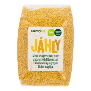 Jáhly 1 kg BIO COUNTRY LIFE