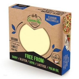 Veganská alternativa sýru Mozzarella blok 250g GreenVie