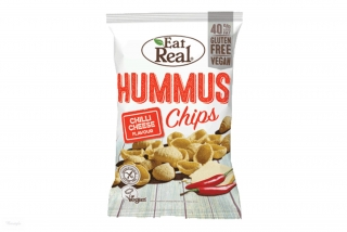 Hummus chips chilli a sýr - Eat Real 45g