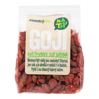 Kustovnice cizí sušená - goji SO2 100 g COUNTRY LIFE