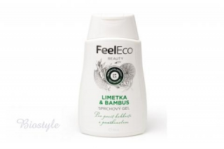 Sprchový gel - limetka & bambus - Feel Eco 300ml